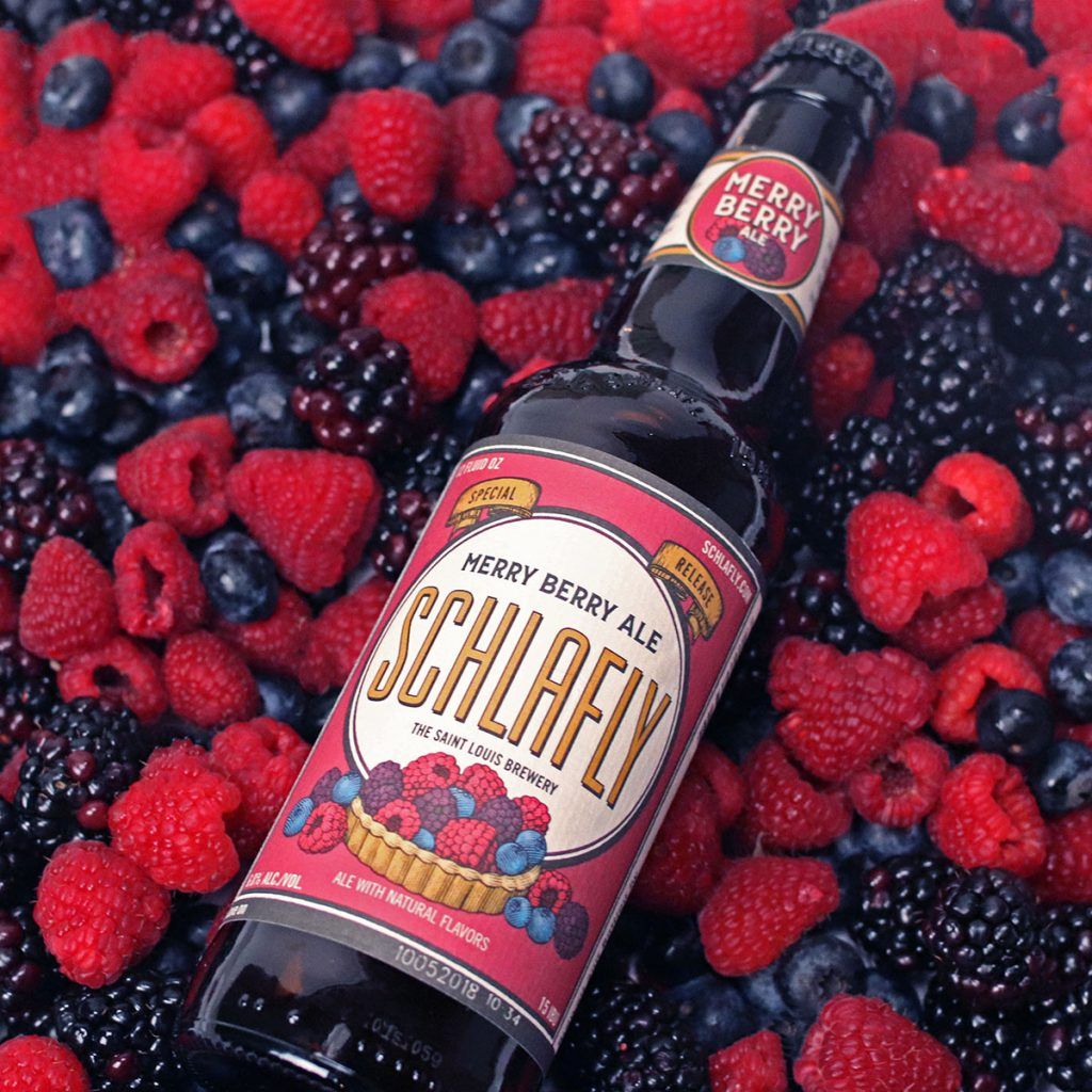 From Patisserie to Bottle: Schlafly's New Merry Berry Ale