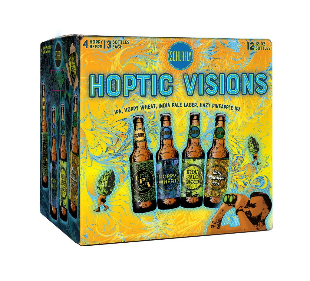 MyBeerBuzz: Schlafly Beer Releases New Hoptic Visions Sampler Pack